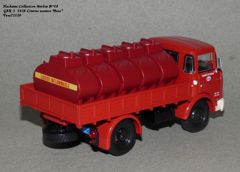 N°18 Berliet  GAK 5 Citerne essence  Hache147