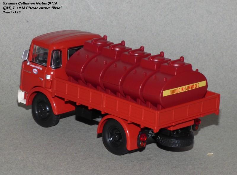 N°18 Berliet  GAK 5 Citerne essence  Hache148