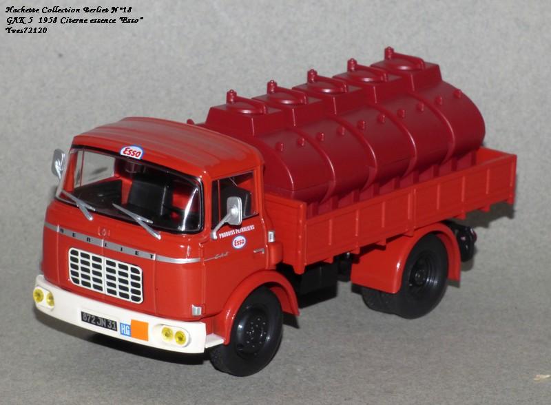 N°18 Berliet  GAK 5 Citerne essence  Hache149