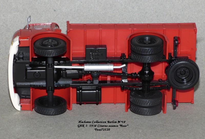 N°18 Berliet  GAK 5 Citerne essence  Hache150