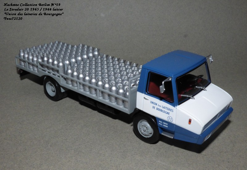 N°19 Berliet Stradair 20 laitier Hache152