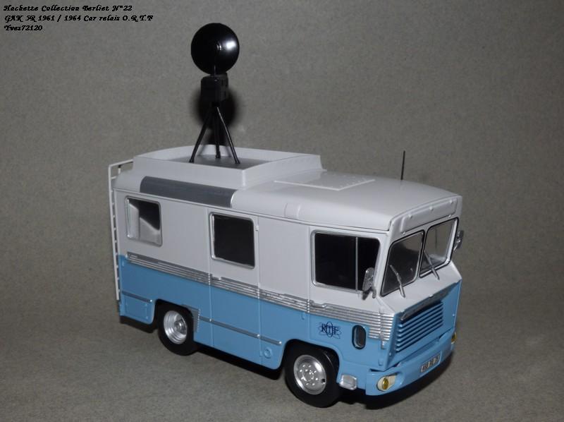 N°22- Berliet GAK 5R Car relais O.R.T.F 1961 / 1964   Hache168