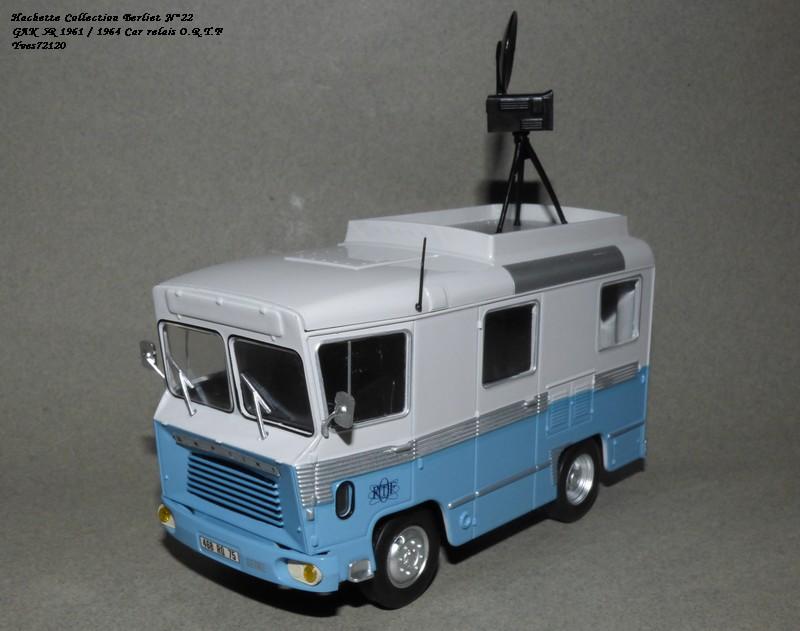N°22- Berliet GAK 5R Car relais O.R.T.F 1961 / 1964   Hache170