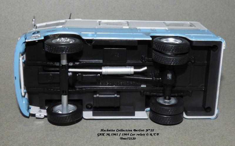 N°22- Berliet GAK 5R Car relais O.R.T.F 1961 / 1964   Hache172