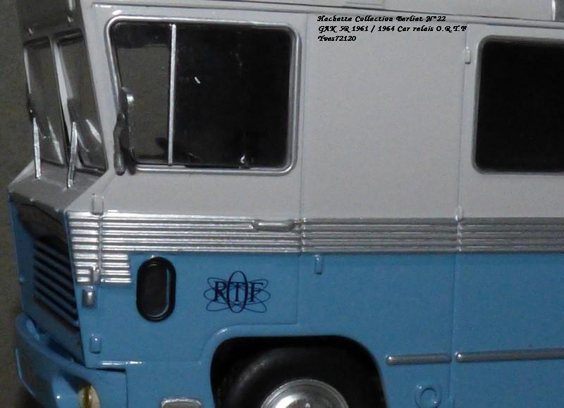 N°22- Berliet GAK 5R Car relais O.R.T.F 1961 / 1964   Hache173