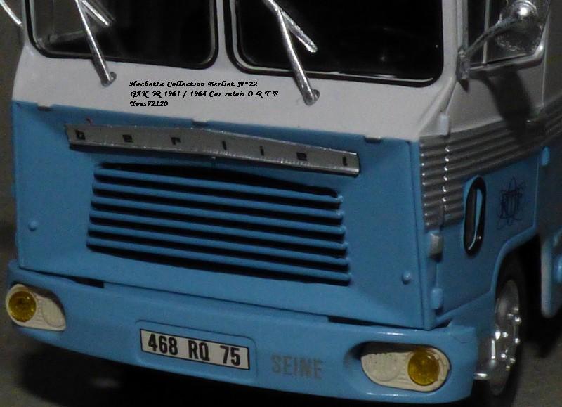 N°22- Berliet GAK 5R Car relais O.R.T.F 1961 / 1964   Hache174