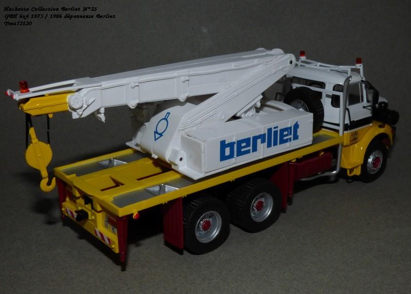 N°23- Berliet GBH 280 6 X 4  Dépanneuse Berliet  1975 / 1986  Hache176