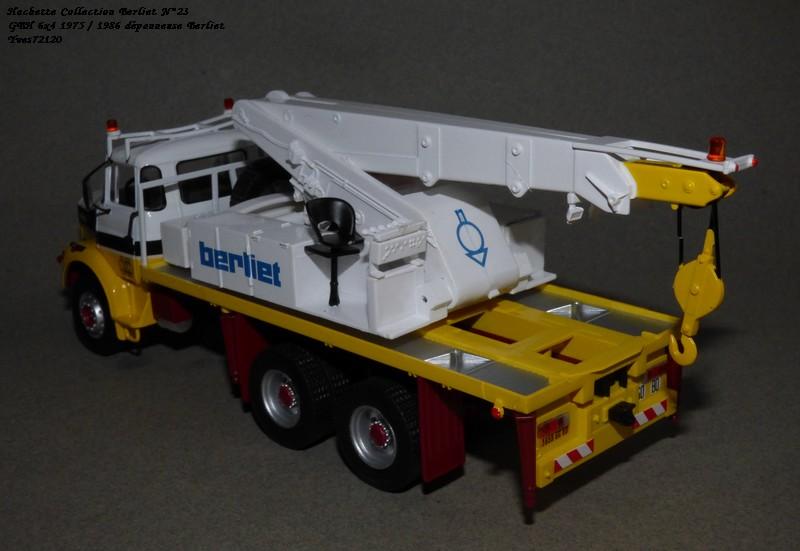 N°23- Berliet GBH 280 6 X 4  Dépanneuse Berliet  1975 / 1986  Hache177