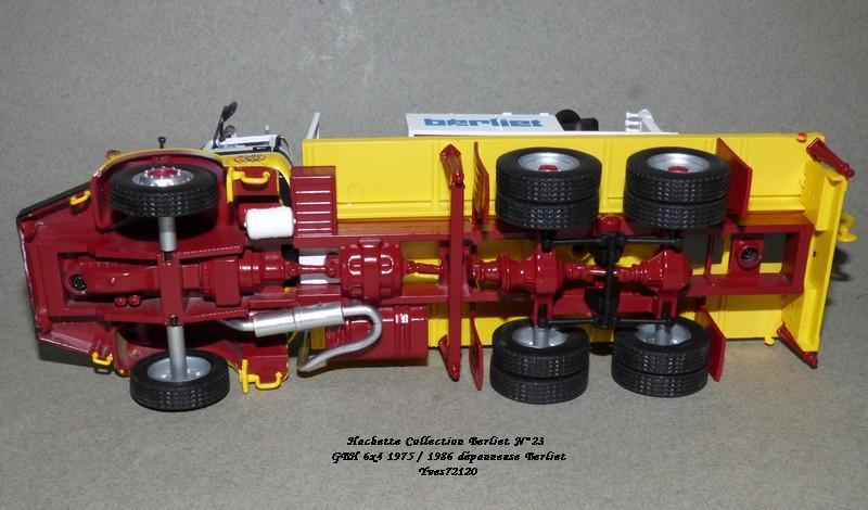 N°23- Berliet GBH 280 6 X 4  Dépanneuse Berliet  1975 / 1986  Hache179