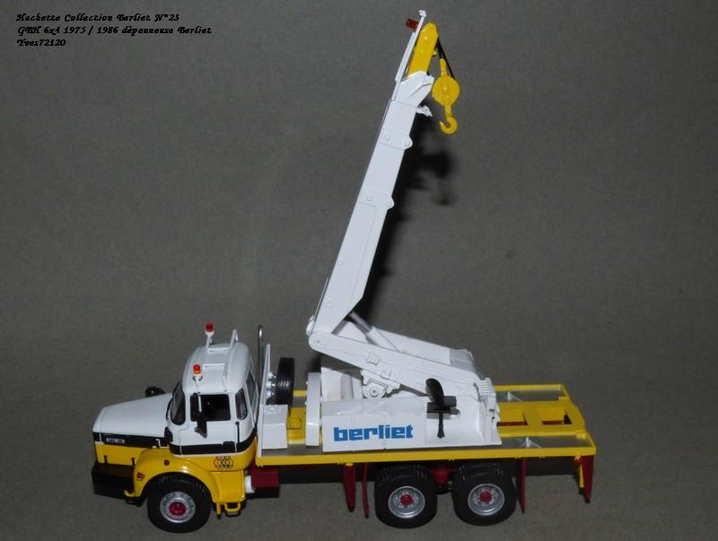 N°23- Berliet GBH 280 6 X 4  Dépanneuse Berliet  1975 / 1986  Hache180