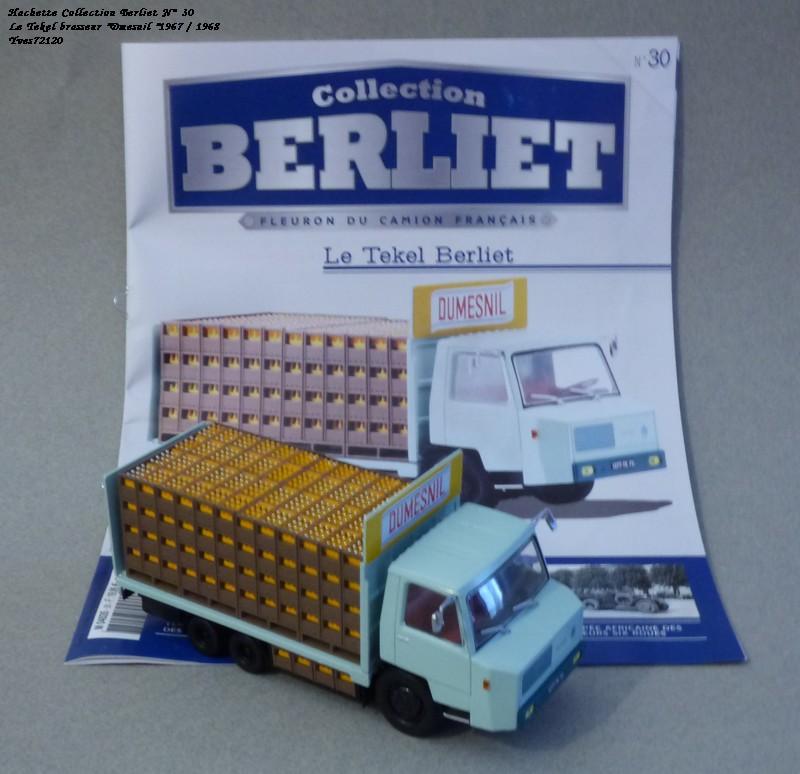 N°30 Berliet Tekel transport de boisson 1966 Hache233
