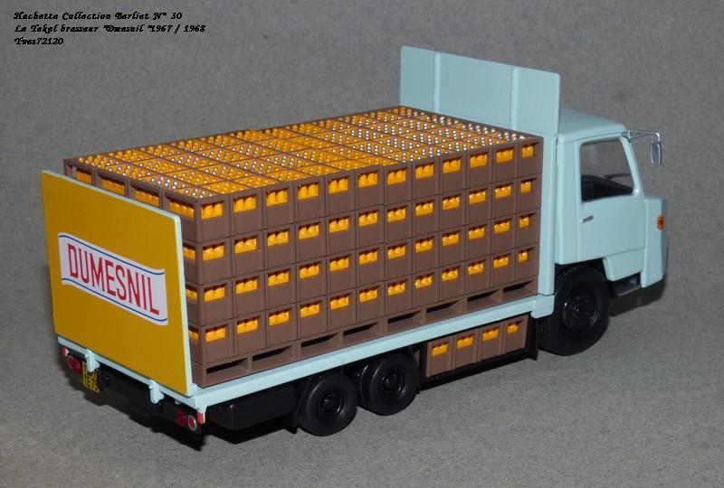 N°30 Berliet Tekel transport de boisson 1966 Hache235