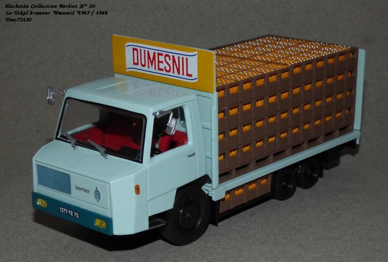 N°30 Berliet Tekel transport de boisson 1966 Hache237