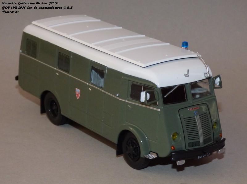 N°16- Berliet GLB R 19 Aérazur Car de commandement C.R.S Hachet58
