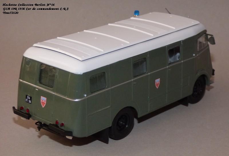 N°16- Berliet GLB R 19 Aérazur Car de commandement C.R.S Hachet59