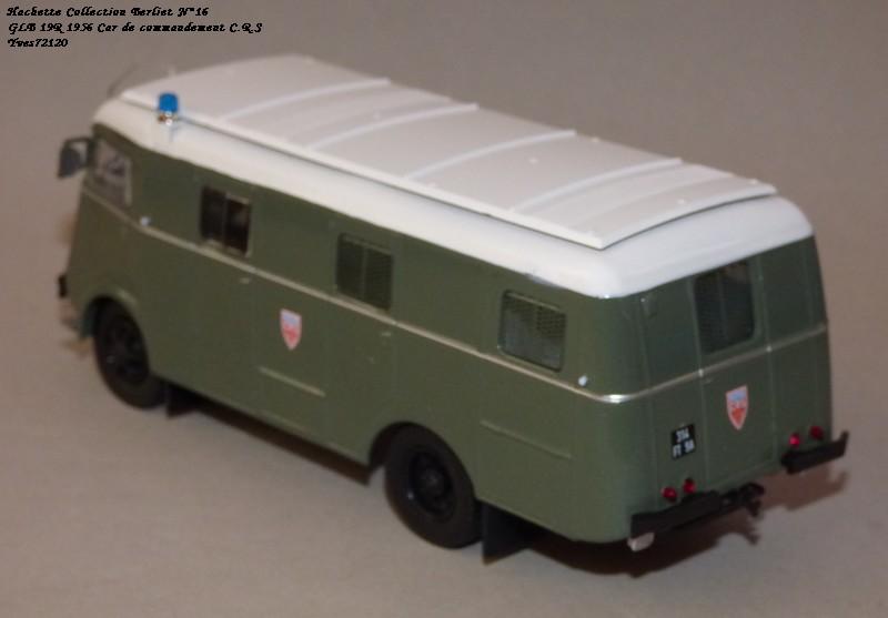 N°16- Berliet GLB R 19 Aérazur Car de commandement C.R.S Hachet60