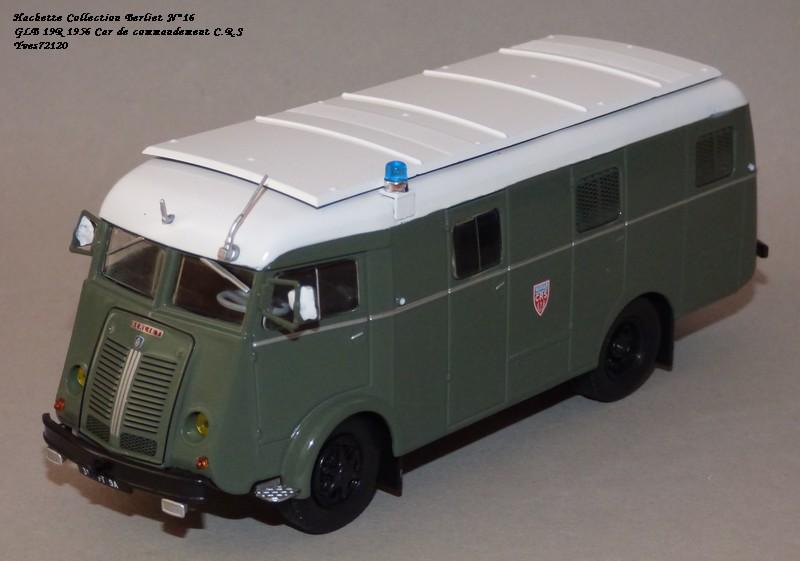 N°16- Berliet GLB R 19 Aérazur Car de commandement C.R.S Hachet61