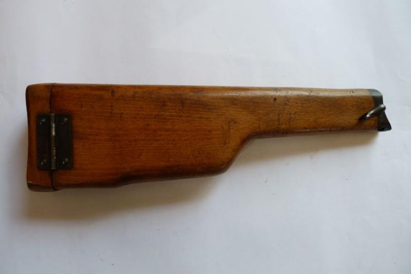 Les étuis et accessoires des Luger commerciaux d'artillerie. Crosse18