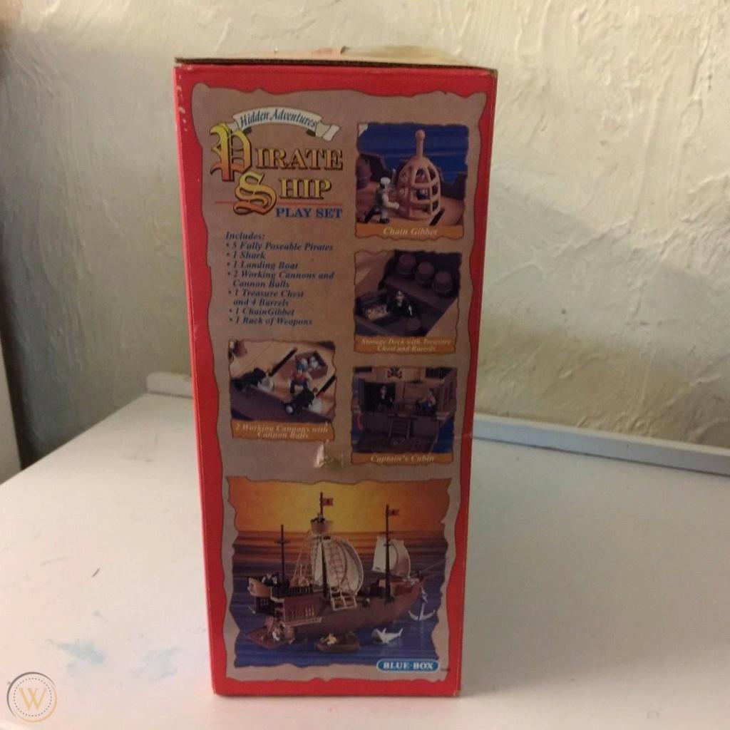 CERCO playset pirati Blue Box 1997 Blue-b10
