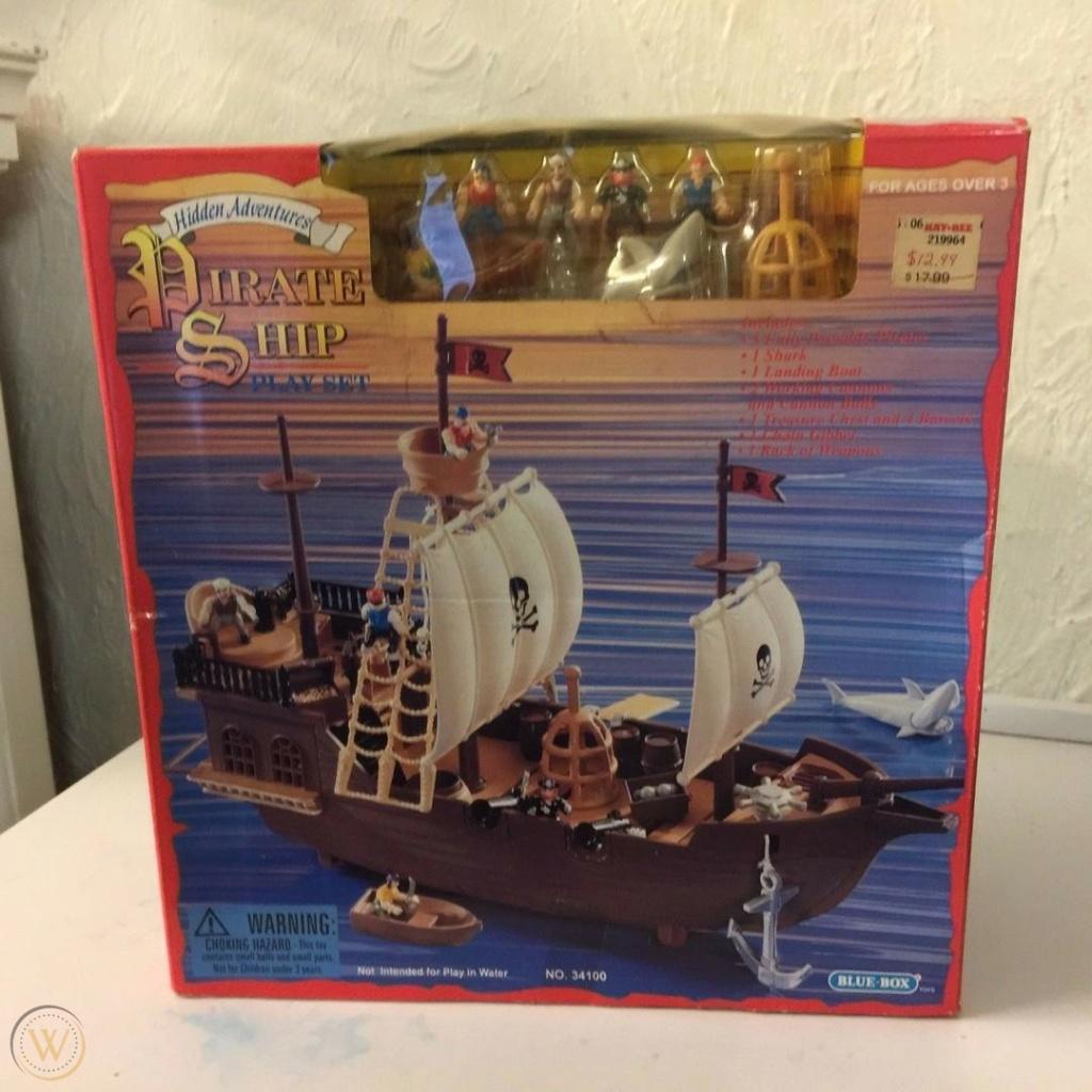 CERCO playset pirati Blue Box 1997 Blue-b12