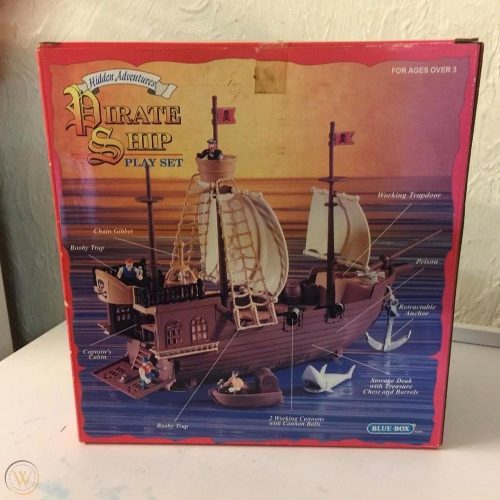 CERCO playset pirati Blue Box 1997 Blue-b13