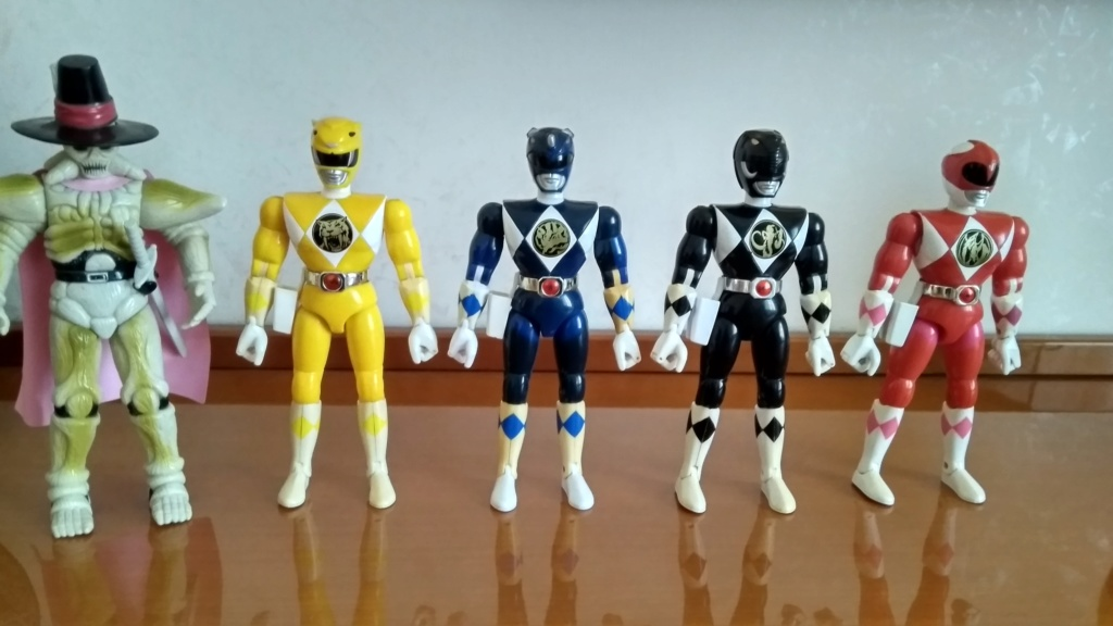 Mighy Morphin Power Rangers 20 cm + Bones Img_2011