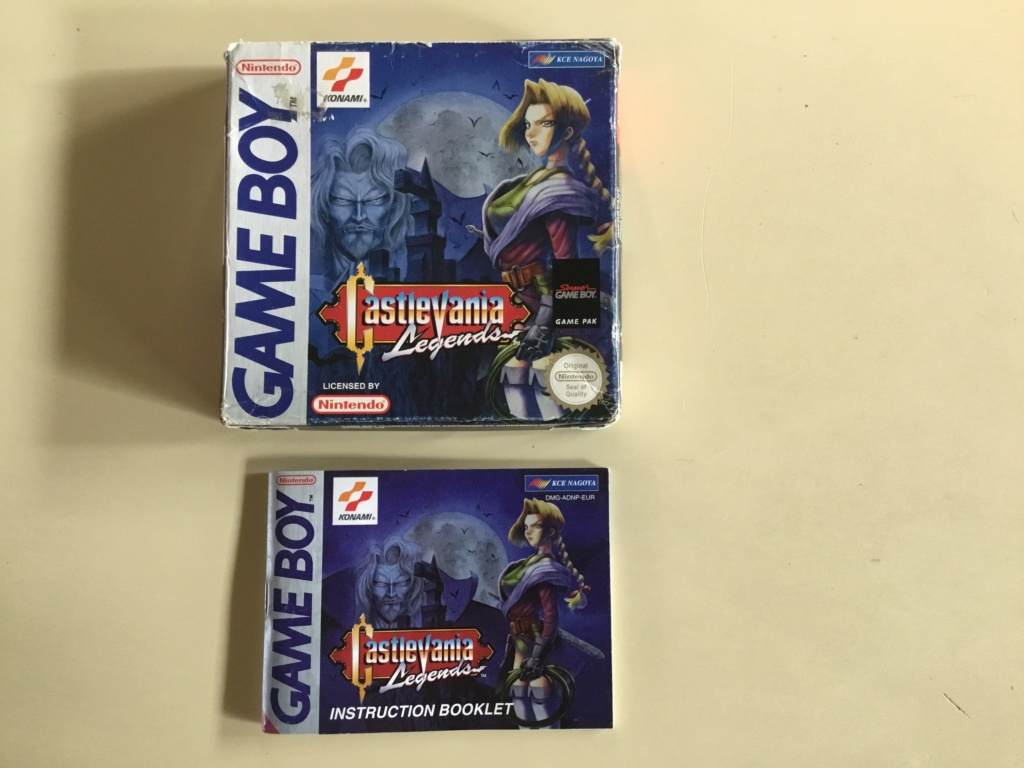 [ACH/EST] Castlevania Game boy 16487710