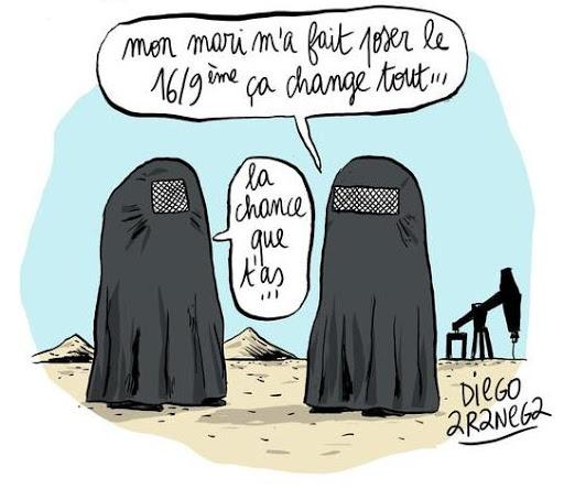 DESSINS  HUMORISTIQUES   (pas de photos) - Page 17 Burka10