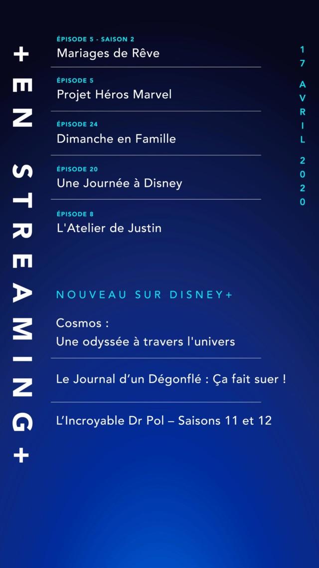 Nouveau sur Disney+ : les ajouts de chaque semaine Evymeb10