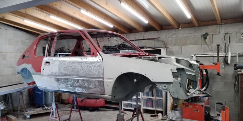 [HarikenRed]  205 GTI 1L9 - Rouge - 1992 (Restauration 100%) 51_vue10