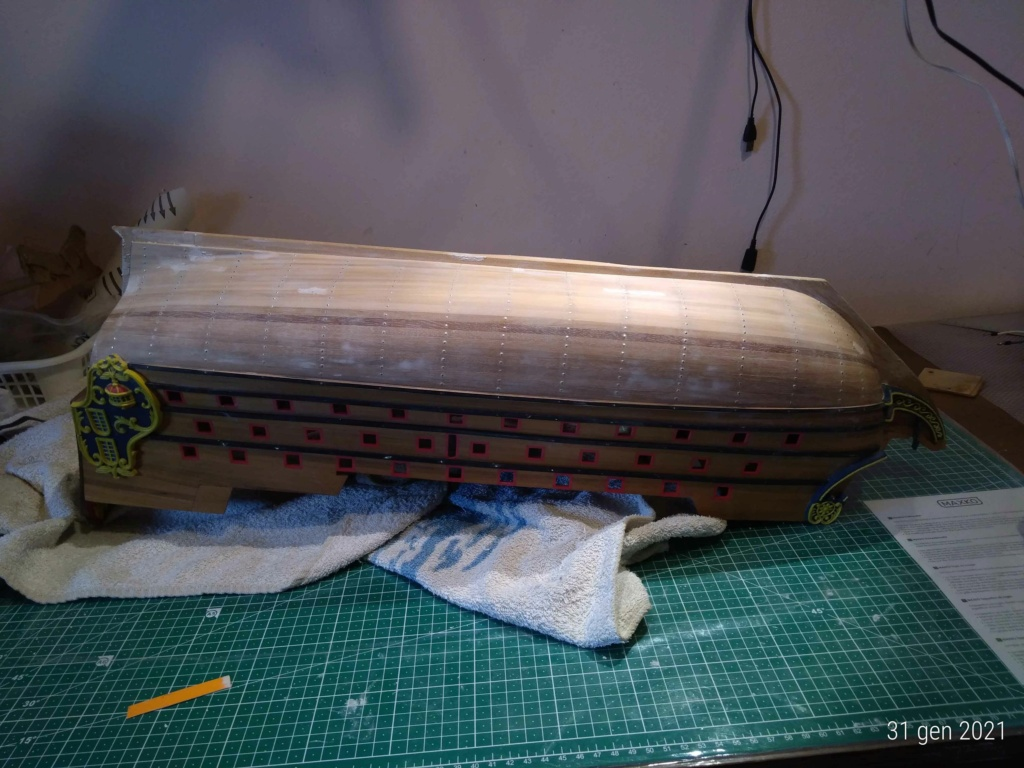 Santisima Madre  restauro e completamento 210