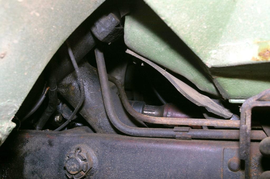 tuyaux rigide d'huile hydraulique  B_igp910