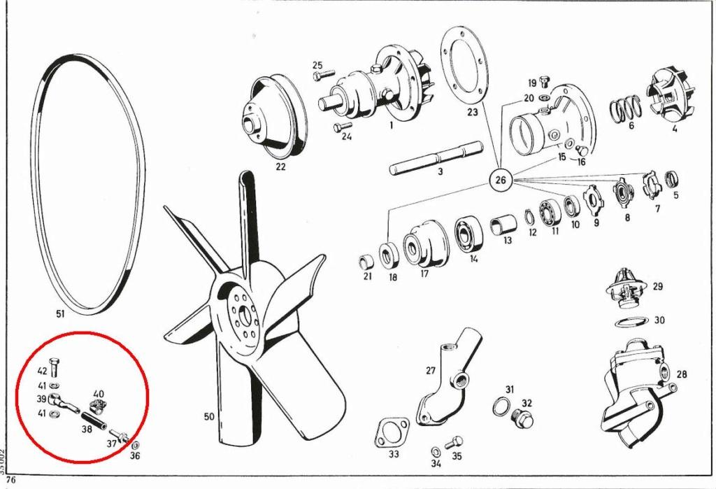 thermostat u411 nouveau système  Pompe_11