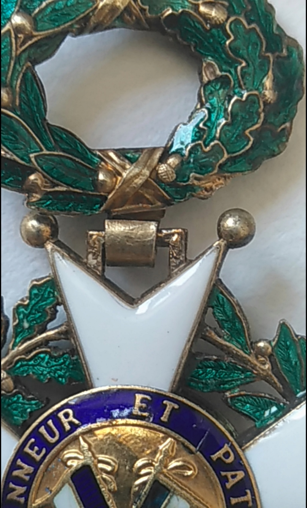 Chevalier et officier de la légion d'honneur 2020-310