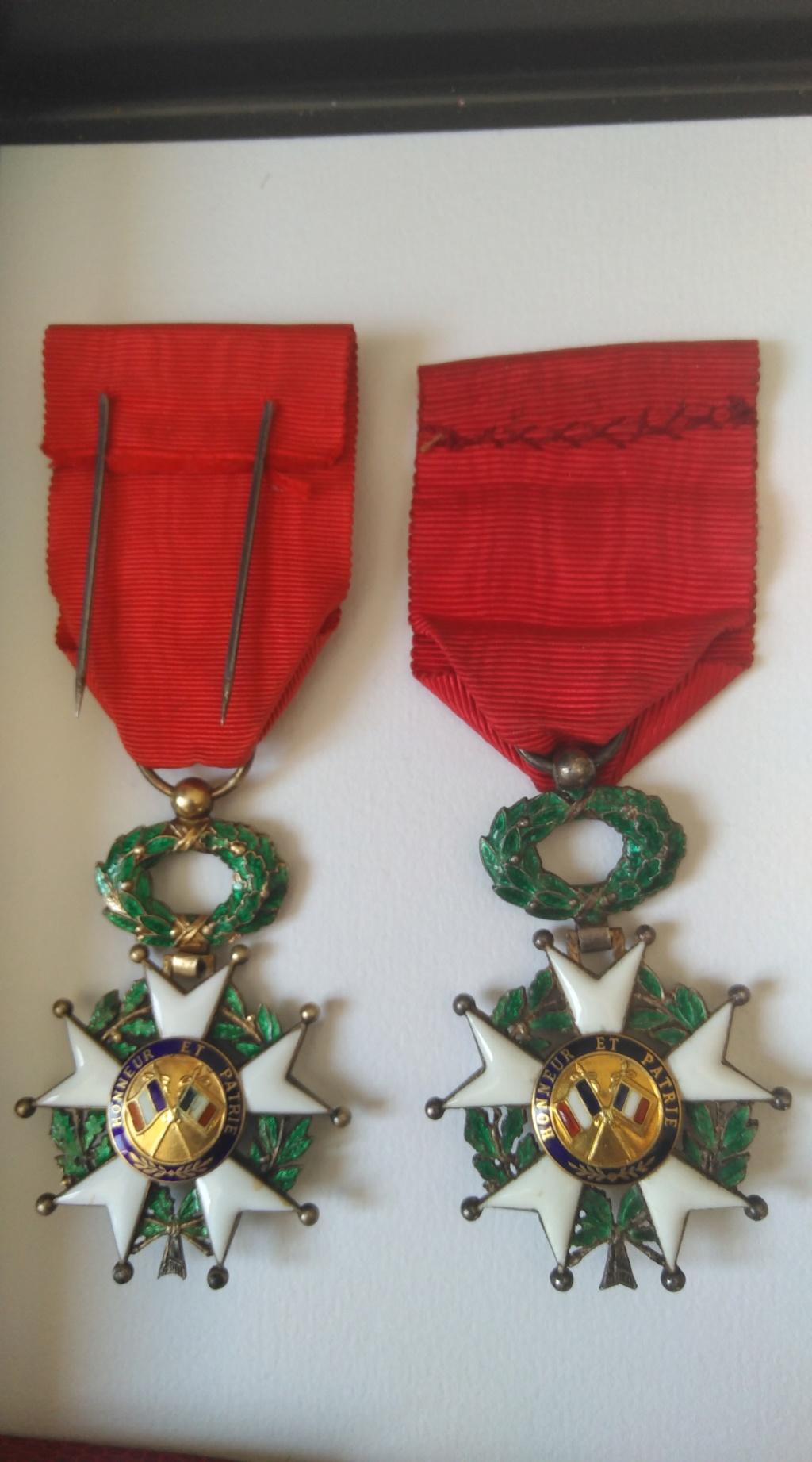 Chevalier et officier de la légion d'honneur Img_1281