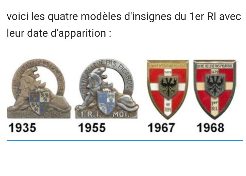 Insignes 1 régiment d'infanterie Img_2065