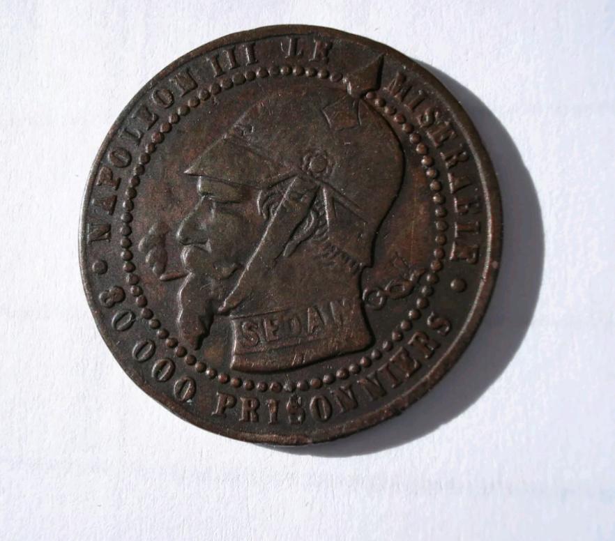 Monnaie satirique Napoléon III Img_2458