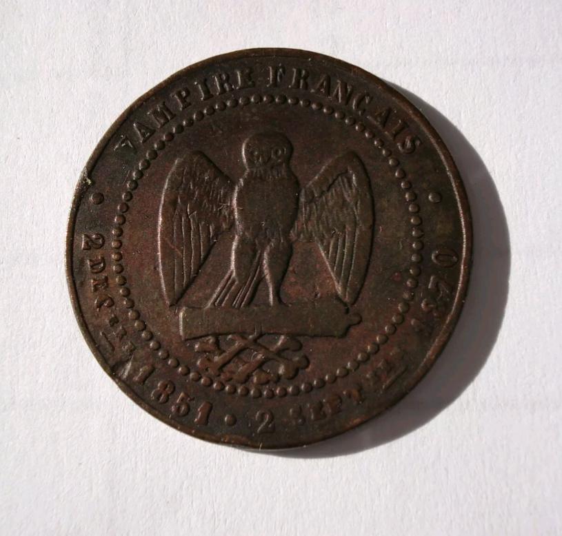 Monnaie satirique Napoléon III Img_2459