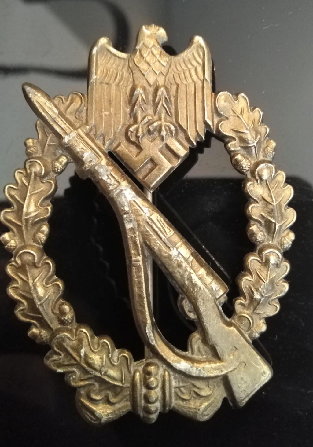 Insigne d'assaut infanterie bronze Img_2461