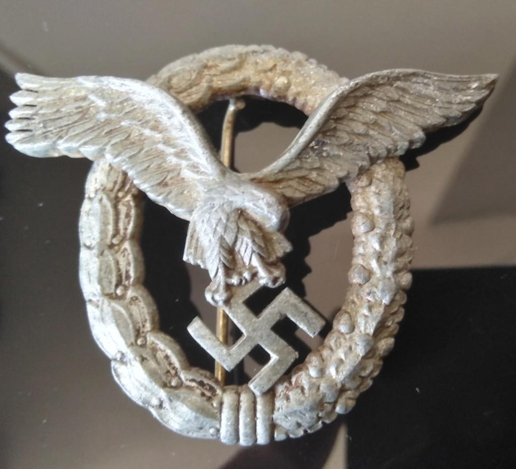 Insigne allemand Luftwaffe Img_2726