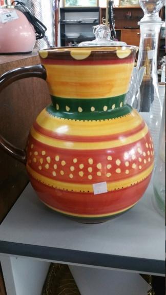 Studio ceramics large jug and demitassee set 20190531