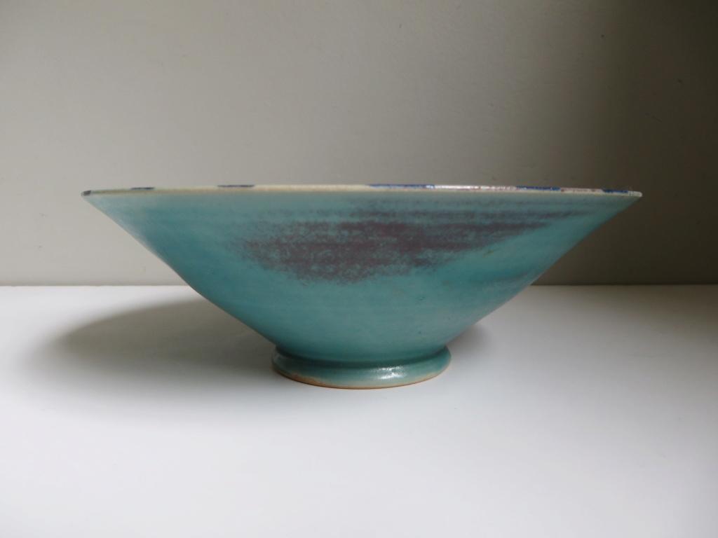 Stylized bird dish - Larnaca Studio, Cyprus - Cyprus Handicraft Services Img_0116
