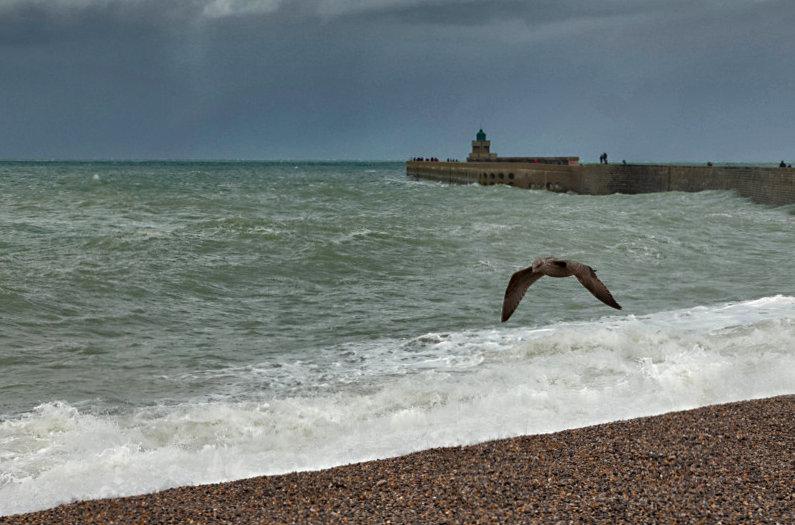 grande marée à DIEPPE Dieppe12