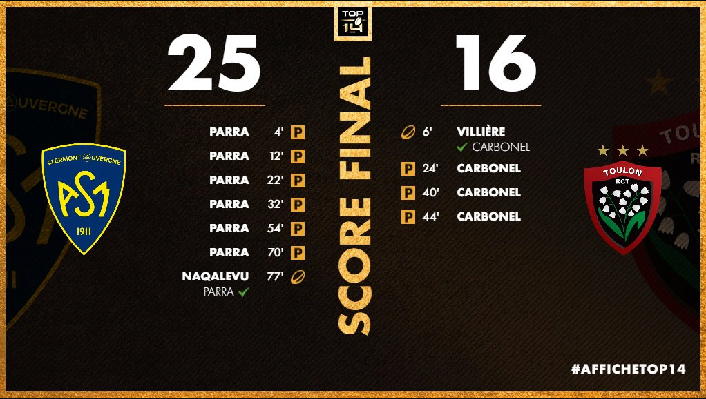 Top14 : autres matchs - Page 10 Clermo10