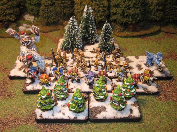 C'est Noël, donc une armée de Noël en 15mm par Alternatives Armies 24_ap10