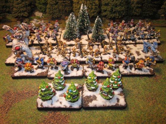 C'est Noël, donc une armée de Noël en 15mm par Alternatives Armies Armzoe10