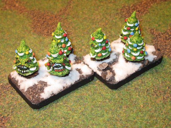 C'est Noël, donc une armée de Noël en 15mm par Alternatives Armies Lurker10