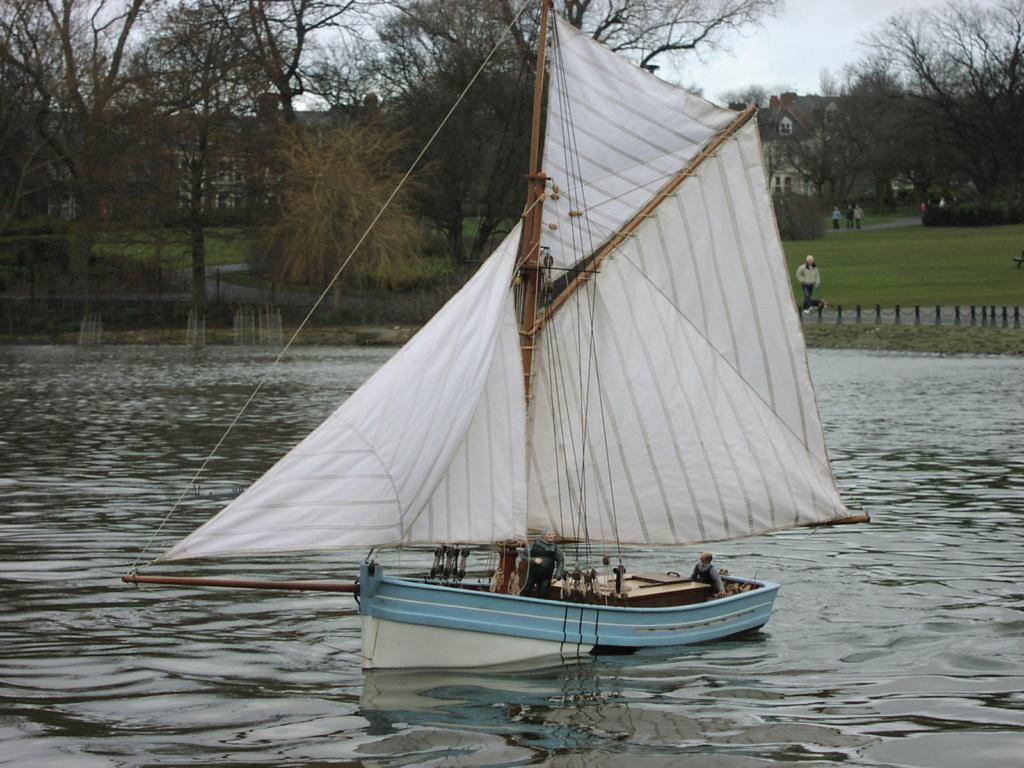 Nautilus II by Robert Fulton Sails610