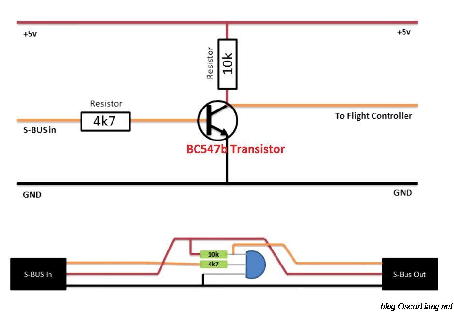 UHF radio control  for submarines (openLRS, LoRa, FSK  etc. on 458Mhz and 433Mhz ) - Page 7 Sbus-i10