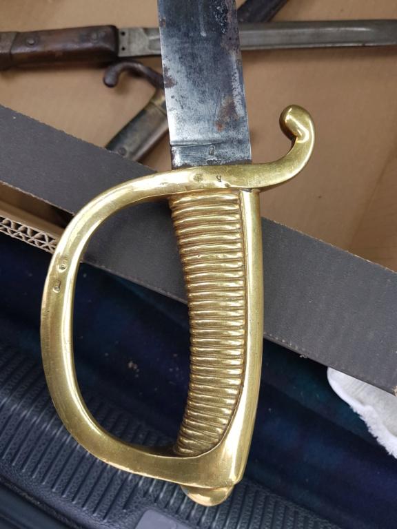 Un sabre a identifier et estimer merci 20190211